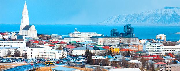 Bildresultat för vy över reykjavik