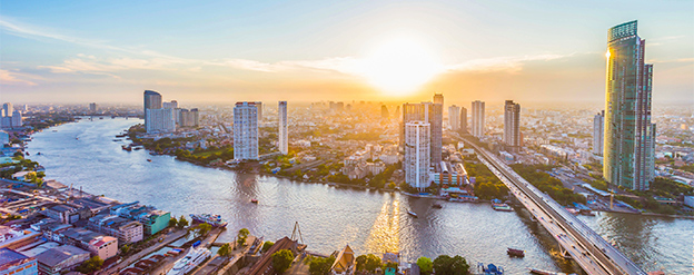 flygstol till bangkok