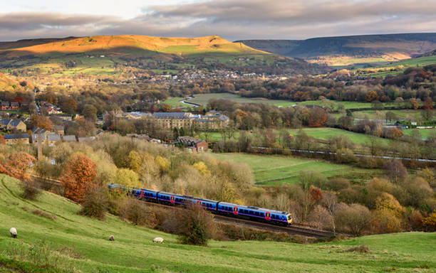 Ta tåget genom norra England